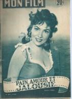 "MON FILM  N° 463 - 1955 "" PAIN, AMOUR ET JALOUSIE "" GINA LOLLOBRIGIDA + "" PRINCE VAILLANT  "" ROBERT WAGNER - Cinéma"