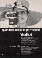 # ROLLEI 1960s Advert Pubblicità Publicitè Publicidad Reklame Film Movie Camera Eumig Picture - Advertising
