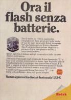 # KODAK 1960s Advert Pubblicità Publicitè Publicidad Reklame Camera Instamatic Kodapak - Advertising
