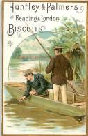 D-15-3974 :  BISCUITS HUNTLEY & PALMERS PECHE A LA LIGNE EN RIVIERE - Confectionery & Biscuits