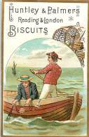D-15-3975 :  BISCUITS HUNTLEY & PALMERS PECHE EN MER  NASSE - Confectionery & Biscuits