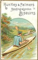 D-15-3976 :  BISCUITS HUNTLEY & PALMERS CANOE - Confectionery & Biscuits