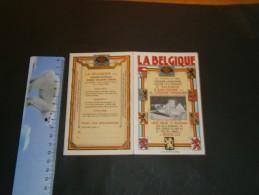 """COMPAGNIE D'ASSURANCE CONTRE LES RISQUES """"LA BELGIQUE """" - Année 1935 - Calendriers"""