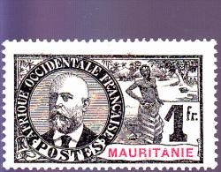 MAURITANIE :   : Y&T: 14* - Mauritanie (1906-1944)