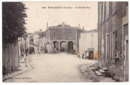 MAILLEZAIS -   La Grande Rue. Belle Carte. - Maillezais