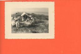 14 Courseulles Sur Mer : 15 Août 1955 -  Photo  (dimensions 10.6 X 8 ) - Photographie