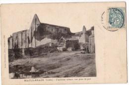 MAILLEZAIS -  L'Ancienne Abbaye Vue Prise Du Port. Pas Courante. - Maillezais