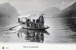 56Ba  Italie Lago Di Como Barca Da Pescatori En TBE - Italie