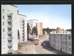 CPA Skelleftea, Getbergsvägen Avec Neubauten - Suède