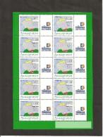 MINIFEUILLE   F 3927 A   LOGO  TIMBRES PERSONNALISES   NEUF XX - Gepersonaliseerde Postzegels