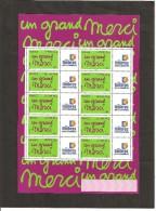 MINIFEUILLE   F 3761 A   LOGO  TIMBRES PERSONNALISES   NEUF XX - Gepersonaliseerde Postzegels