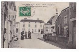 MOUILLERON-EN-PAREDS. - Rue Et Place Du Marché. Joli Cliché - Mouilleron En Pareds