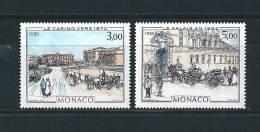 Monaco Timbres De 1982  Tableaux  Neufs** N°1340 Et 1341 - Monaco