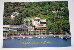 Papeete Hôtel Des Postes Polynésie Tahiti Océanie - CPSM / CP Vue Aérienne Panoramique - Tahiti