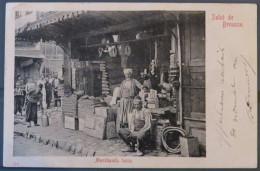 Turkey, Brousse, Marchands Turcs, Salut De Brousse - Turquie