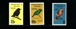 MICRONESIA - 1988  BIRDS AIR MAIL  SET  MINT NH - Micronesia