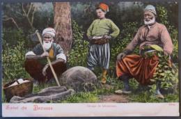 Turkey, Brousse, Groupe De Laboureurs, Salut De Brousse, Anatolie - Turquie