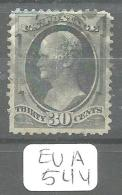 EUA Scott 190 Blue Cancel YT 57B # - Used Stamps