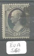 EUA Scott 190 Very Good YT 57B # - Used Stamps