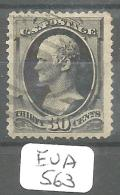 EUA Scott 190 Very Fine YT 57B # - Used Stamps