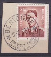 "Nr 1028 Type Marchand Met Stempel ""* BERTOGNE * / SON VIEUX CHATEAU........"" - 1953-1972 Glasses"