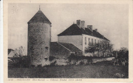CPA 52 Pressigny - Chateau Féodal - Autres Communes