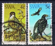 SWA+ Südwestafrika 1975 Mi 402-03 Greifvögel - Südwestafrika (1923-1990)