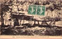 Dolmen De Pierre-Pèse, Près Saint-Saviol - Vue Prise De Côté - Frankreich