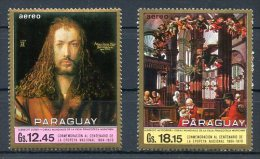 PARAGUAY - PAINTING Mi # 2054/5 MH VF - Paraguay