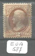EUA Scott 146 Very Good YT 40 # - Used Stamps