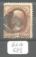 EUA Scott 146 Signed Very Good YT 40 # - Used Stamps