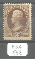 EUA Scott 157 Blue Cancel Fine YT 51 # - Used Stamps