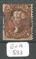 EUA Scott  75 YT 21a # - Used Stamps