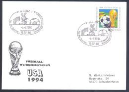 Germany Deutschland 1994 Cover: Football Fussball Soccer Calcio: World Cup Mundial WM Weltmeisterschaft Rabbit - World Cup