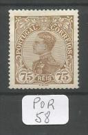 POR Afinsa  163 ( X ) - 1910 : D.Manuel II