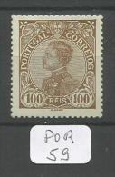POR Afinsa  165 ( X ) - 1910 : D.Manuel II