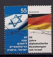 2005 Allem Fed. Deutschland  Mi.. 2498** MNH  40 Jahre Diplomatische Beziehung Mit Israel - [7] Repubblica Federale