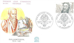 Barenton 23 01 1982 Guillaume Postel - FDC