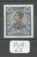 POR Afinsa  169 ( X ) Bien Centré - 1910 : D.Manuel II