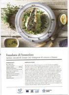 "Ricetta Insalata Di Branzino. Cartolina ""Enterprise Greece"" - Ricette Di Cucina"