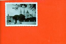 14 CAEN : église Saint Etienne (dimensions 8.7 X 6.5) (noir Et Blanc ) - Photographie