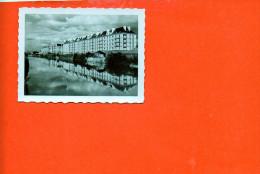 14 CAEN : Nouveaux Immeubles Et L'orne (dimensions 8.7 X 6.5) (noir Et Blanc ) - Photographie