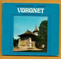 ROUMANIE-Monastère De Voroneț-1978-édité Par EDITURA SPORT-TURISM-MONUMENTS HISTORIQUES ET D'ART DE ROUMANIE - Andere