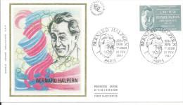Paris 21 02 1987 Bernard Halpern - FDC