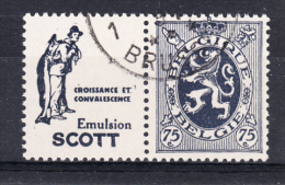 BELGIUM USED COB PU 552 SCOTT CROISSANCE