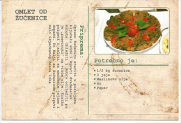 Chicory Omelette (Receipt From Montenegro) In English - Croat & Serb Languages - Recipes (cooking)
