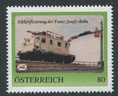 ÖSTERREICH / PM Nr. 8115108 / Elektrifizierung Franz-Josefs-Bahn / Postfrisch / ** - Personalisierte Briefmarken