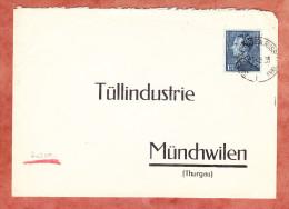 Brief, EF Koenig Leopold, Bruxelles Nach Muenchwilen 1939? (24728) - Belgien