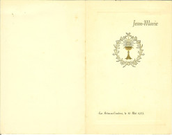 """MENU De 1953 à LES AVINS-en-CONDROZ """" Jean-Marie """" - Menus"""
