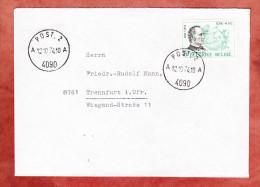 Brief, EF Blair, Post Nach Trennfurt 1974 (24733) - Belgien